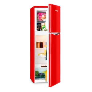 Monroe XL Red Fridge Freezer 97/39 l A+ Retro look Red