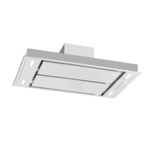 Hotă secret service 220W, 3 etape de performanță, LED, oțel inoxidabil