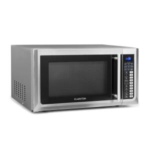 Klarstein Brilliance Pro Microwave 43 Litre Grill Convection Touch Panel Stainless Steel