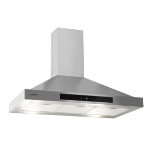 Zelda 90 Extractor Hood 210W 3 Levels 650m³/h LED EEC: B Stainless Steel