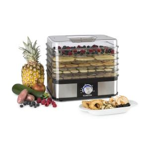 Valle Deluxe Dehydrator 5 Storage Rack 250W Stainless Steel