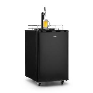 Klarstein Big Spender Single Refrigerador de barriles de cerveza Juego completo CO2 Barriles de hasta 50l