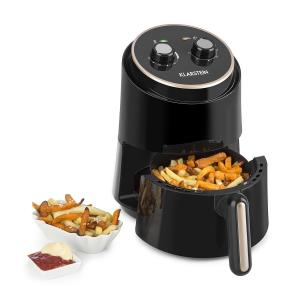 Klarstein Well Air Fry Air Fryer 1230W Overheat Protection 1.5L black