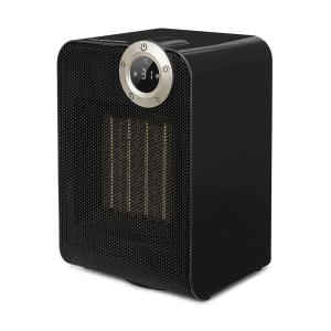 Cozy Cube Ceramic Heater 900 1800W Swivel Function 10-35 °C Black