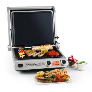 Grand Gourmet 3-in-1 grill electric 2000W 160-230°C - ceramică, negru