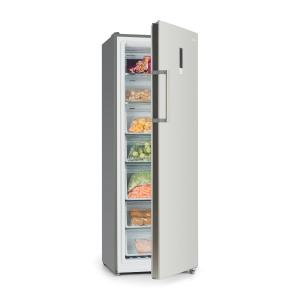 Klarstein Iceblokk Hybrid Freezer 227 Litres 7 Compartments Stainless Steel Look