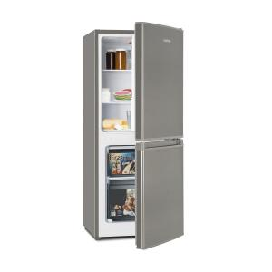 Klarstein Big Daddy Cool 100 Fridge-Freezer 106 Litres A + Stainless Steel Look