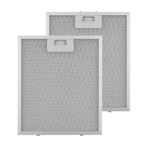Klarstein Aluminium Grease Filter 27.1 x 31.8 cm Replacement Filter 2 Pieces Accessories