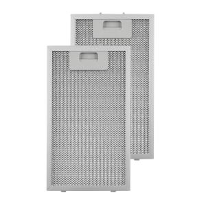 Klarstein Aluminium Grease Filter 18.5 x 31.8 cm Replacement Filter 2 Pieces