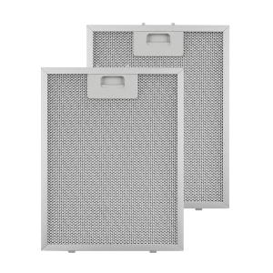 Klarstein Aluminium Grease Filter 24.4 x 31.3 cm Replacement Filter 2 Pieces