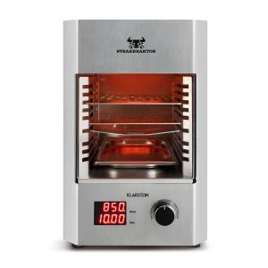 Steakreaktor 2.0 acero inoxidable - barbacoa para interior 1600W 850ºC