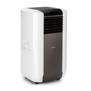 Max Breeze mobile Klimaanlage | 2.200 W | 19.500 BTU/h (5,7 kW) Kühlkapazität | 2,6 EER (Energy Efficiency Ratio) / Klasse A | Aktivkohle-Filter | 4 Modi | 3 Windstärken | Temperatur 18 °C - 32 °C | 65 dB max. | Timer | Touch-Display | Fernbedienung