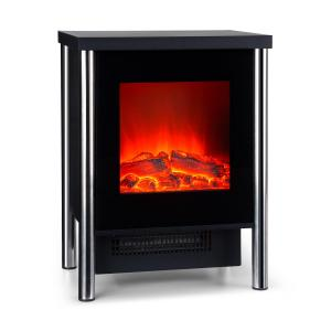 Klarstein Copenhagen Electric Fireplace 950 / 1900W Thermostat Black