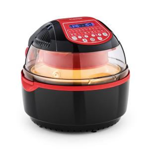 Klarstein VitAir Turbo Smart Friteuse à air chaud 10L 20 programmes 1400W rouge