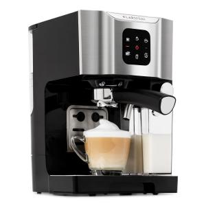 Klarstein BellaVita Coffee Machine, 1450 W, 20 Bar, Milk Frother, 3-in-1, Grey
