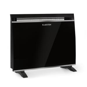 Klarstein Gotland Glass Convector 600, 900 and 1500W Black