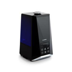 Klarstein VapoAir Onyx Humidifier LED Screen Touch Remote Control Black