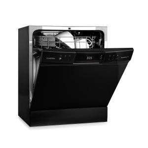 Klarstein Amazonia 8 Neo Tableware Dishwasher 8 Programmes LED Display Black