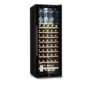 Barossa 54S Wine Fridge 1 Zone 148 L 54 Bottles Glass Door Touch