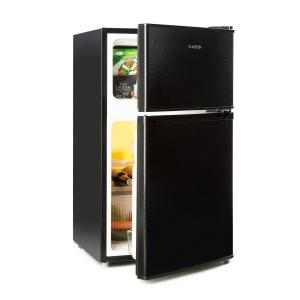 Klarstein Big Daddy Cool Combo Frigo e Freezer 61/26 Litri 42dB A+ nero