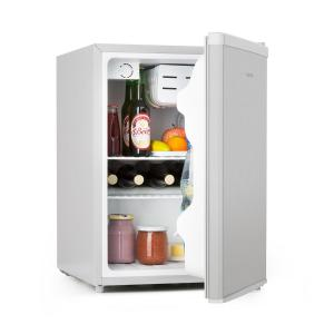 Klarstein Cool Kid Mini Frigo con Vano Freezer da 4 L 66 L 42dB A+ Acciaio Inox