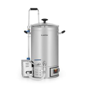 Klarstein Brauheld Mash Kettle 15 Litres 30-140 ° C Circulating Pump Stainless Steel