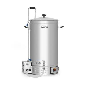 Klarstein Brauheld 35 Mash Kettle 35 Litres 30-140 ° C Circulating Pump Stainless Steel