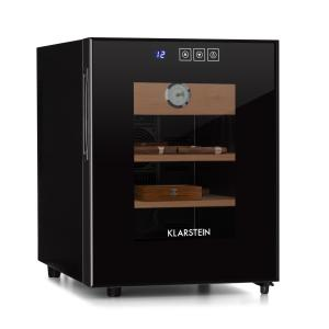 El Presidente 33 Humidor 50 W Touch Beech Wood 33L LED Black
