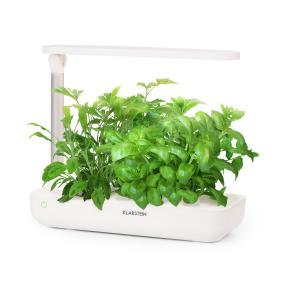 Klarstein GrowIt Flex Jardin hydroponique 9 plantes 18W 110x LED réservoir 2L