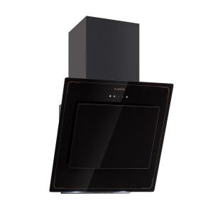 Klarstein DeLorean 60 Cooker Extractor Hood 600 m³ / h Touch Panel Retro Black