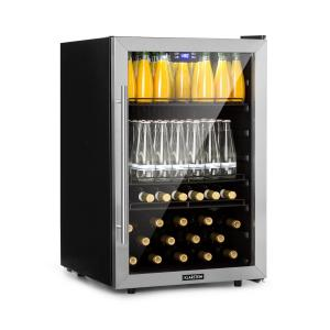 Klarstein Beersafe 5XL Beverage Cooler 148L A + Glass Stainless Steel
