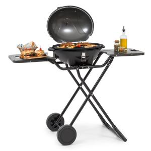 Klarstein Tafelspitz Electric Grill 1600W Non-Stick Coating Foldable Mobile