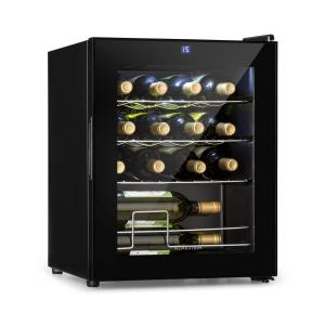 Klarstein Shiraz Wine Refrigerator 42l Touch Panel 131W 5-18 ° C Black