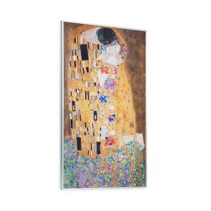 Klarstein Wonderwall Air Art Kiss Chaufage infrarouge 101x 60cm 600W pose murale