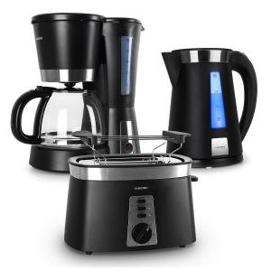 Sunday Morning Breakfast Set Coffee Machine Kettle & Toaster
