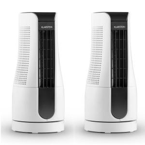 Skyscraper Office Set 2 Ventilateurs colonnes 16W blanc