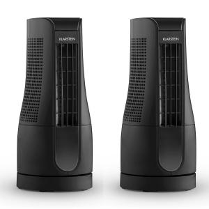Skyscraper Office Set 2 Ventilateurs colonnes 16W noir