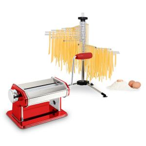 Pasta Set Siena Pasta Maker Red & Verona Pasta Dryer