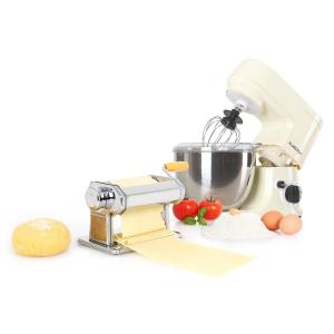 Carina Morena Pasta Maker Set Food Processor 800W 4L Stainless Steel Bowl