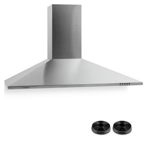 TR90WS Extractor Hood With Activated Charcoal Filter