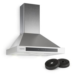 Klarstein Zelda Cooker Extractor Hood 60cm Recirculation Set 620 m³ / h Activated Carbon Filter