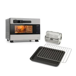 Klarstein Blaise Pressure Oven Complete Set 1600 W | 26 Litres | 4-pc Accessory Set