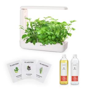 Klarstein GrowIt Cuisine Starter Kit Asia 12 Plants LED Asia Seeds Nutrient Solution
