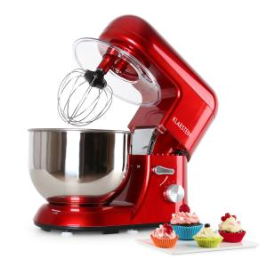 Bella Rossa Kitchen Machine 650W 1.6 HP 5.5 qt. Red