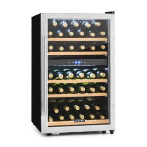 Vinamour 40D wine cooler 2 zones 4.8 cft 41 bottles stainless steel front Touch LED