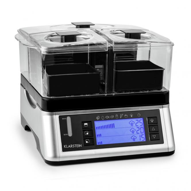 Food Spa Steamer Cooker 1500W 3 Chambers 7 Programs Timer