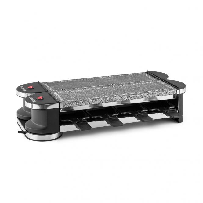 Tenderloin 100 Raclette-Grill 1200W 8 people 2x Natural Stone Plate