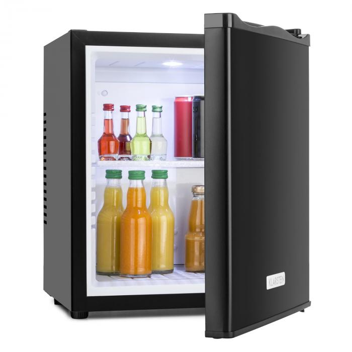mks 10 compact mini fridge 19 litre black klarstein. Black Bedroom Furniture Sets. Home Design Ideas