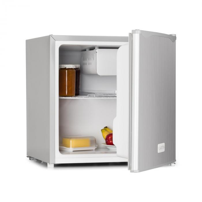 frigo minibar 40 l look acciaio inox a ghiacciaia klarstein. Black Bedroom Furniture Sets. Home Design Ideas