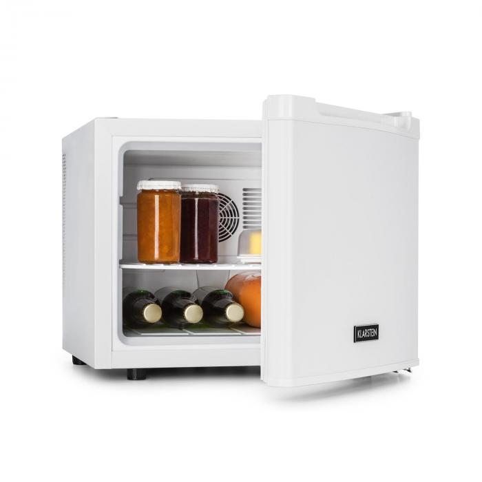 mini fridge 35 liters class b white white klarstein. Black Bedroom Furniture Sets. Home Design Ideas